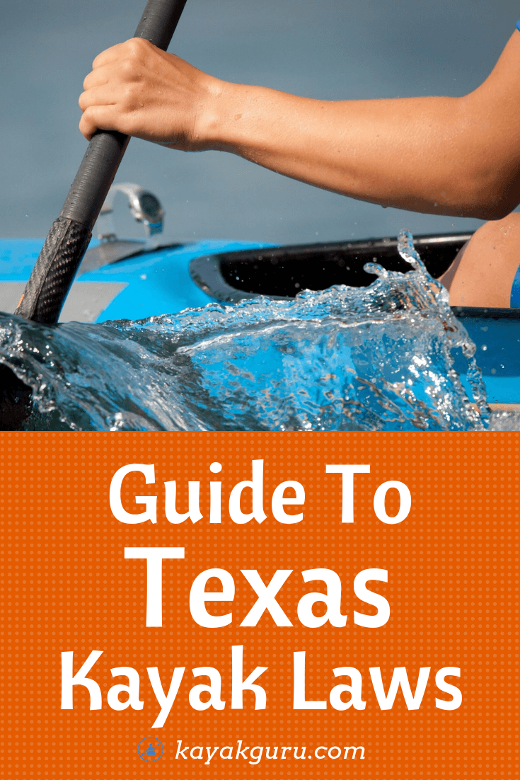 Texas Kayak Laws - Pinterest Image