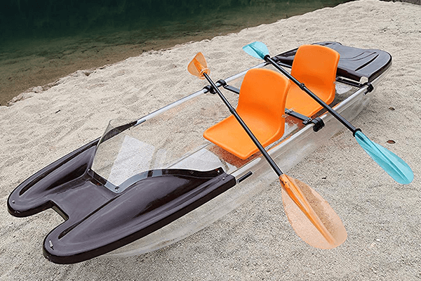 ClearYup Electric Clear Bottom Kayak