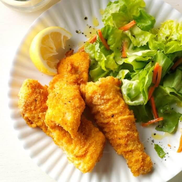 Homemade Fish Sticks cod recipe