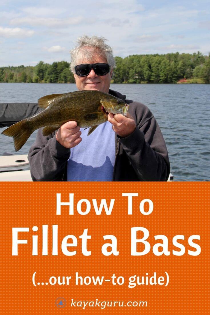 How to Fillet A Bass - Pinterest