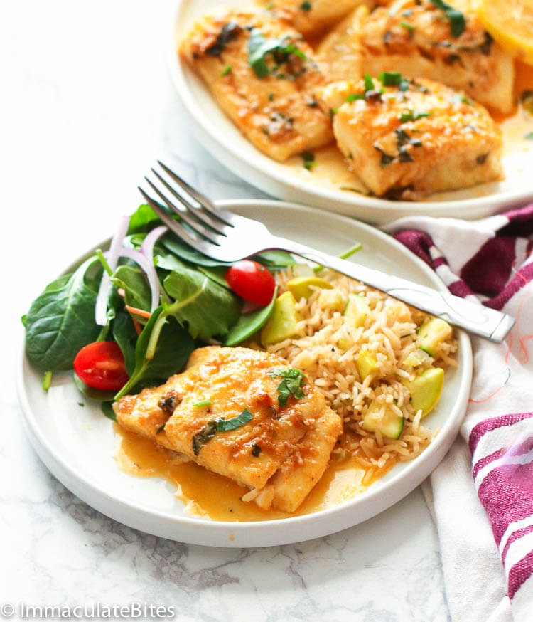 Spicy Baked Cod recipe