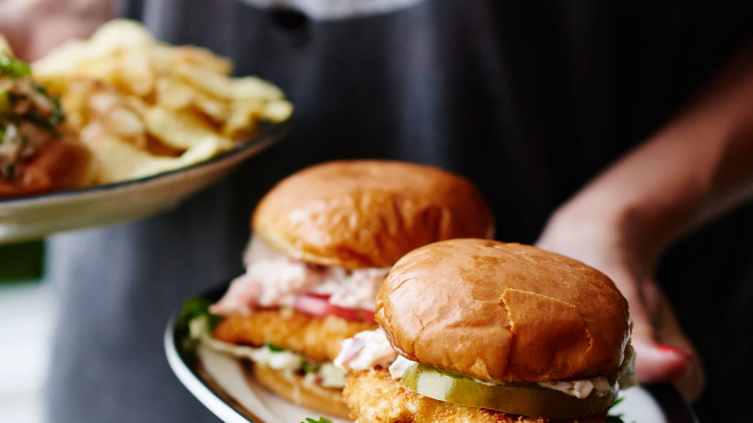 Fried Fish Sandwiches Recipe