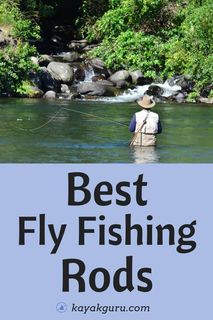 Best Fly Fishing Rods - Pinterest Image