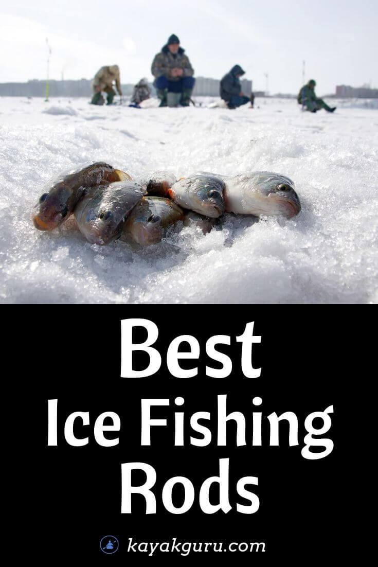Best Ice Fishing Rods - Pinterest Image