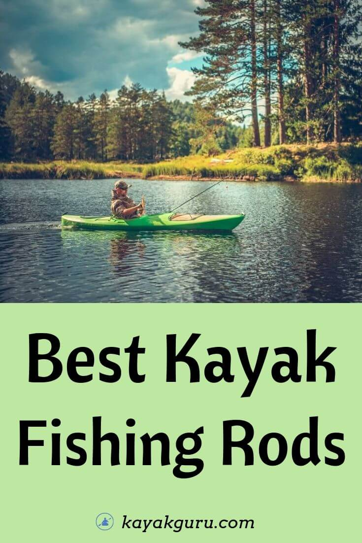 Best Kayak Fishing Rod - Pinterest Image