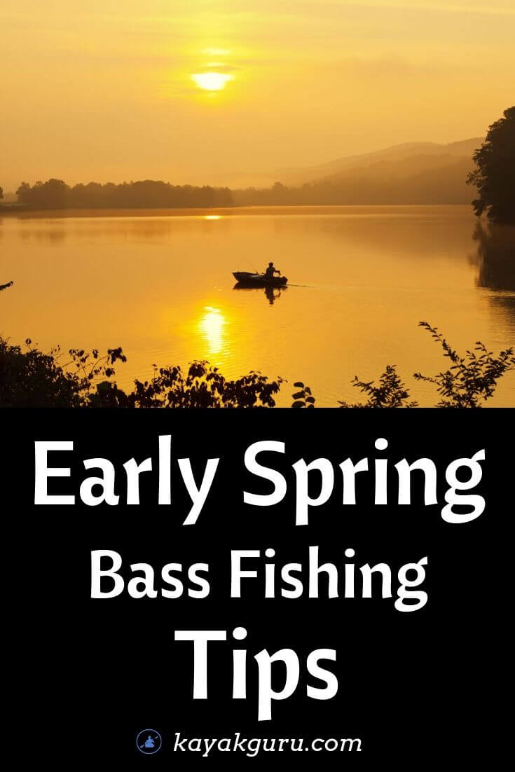 Early Spring Bass Fishing Tips - Pinterest Image