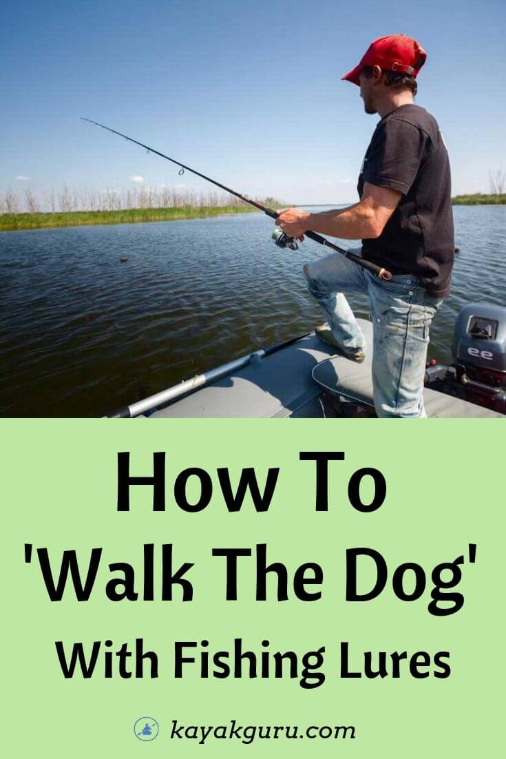 How To Walk The Dog With Lures - Pinterest