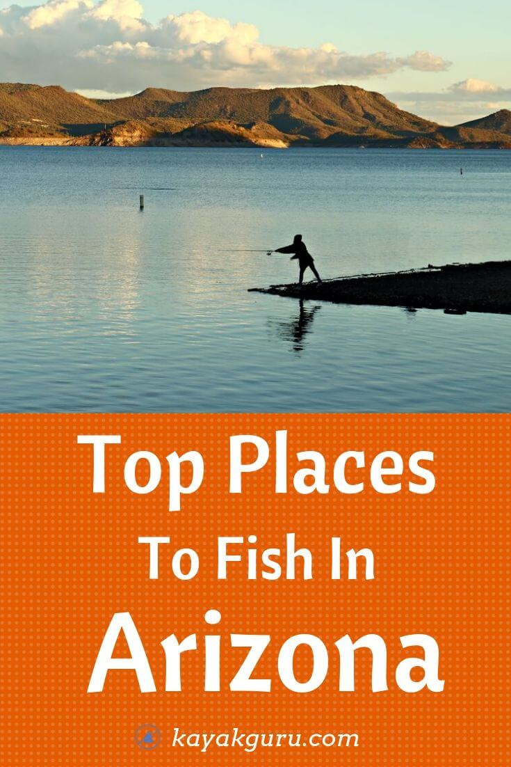 Top Places To Fish In Arizona - Pinterest