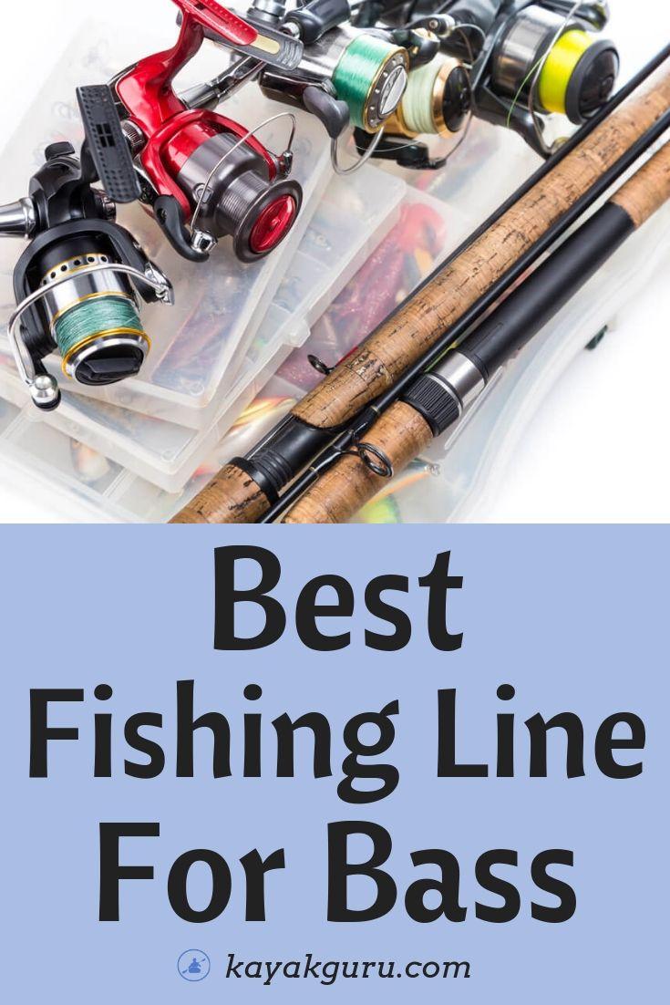 Best Fishing Line For Bass - Pinterest Image