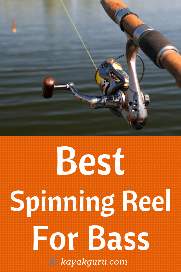 Pinterest image for Best Bass Spinning Reel
