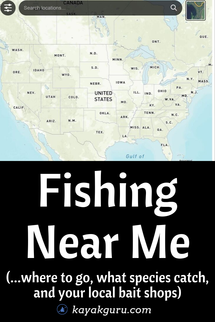 Where to go fishing near me - the best places