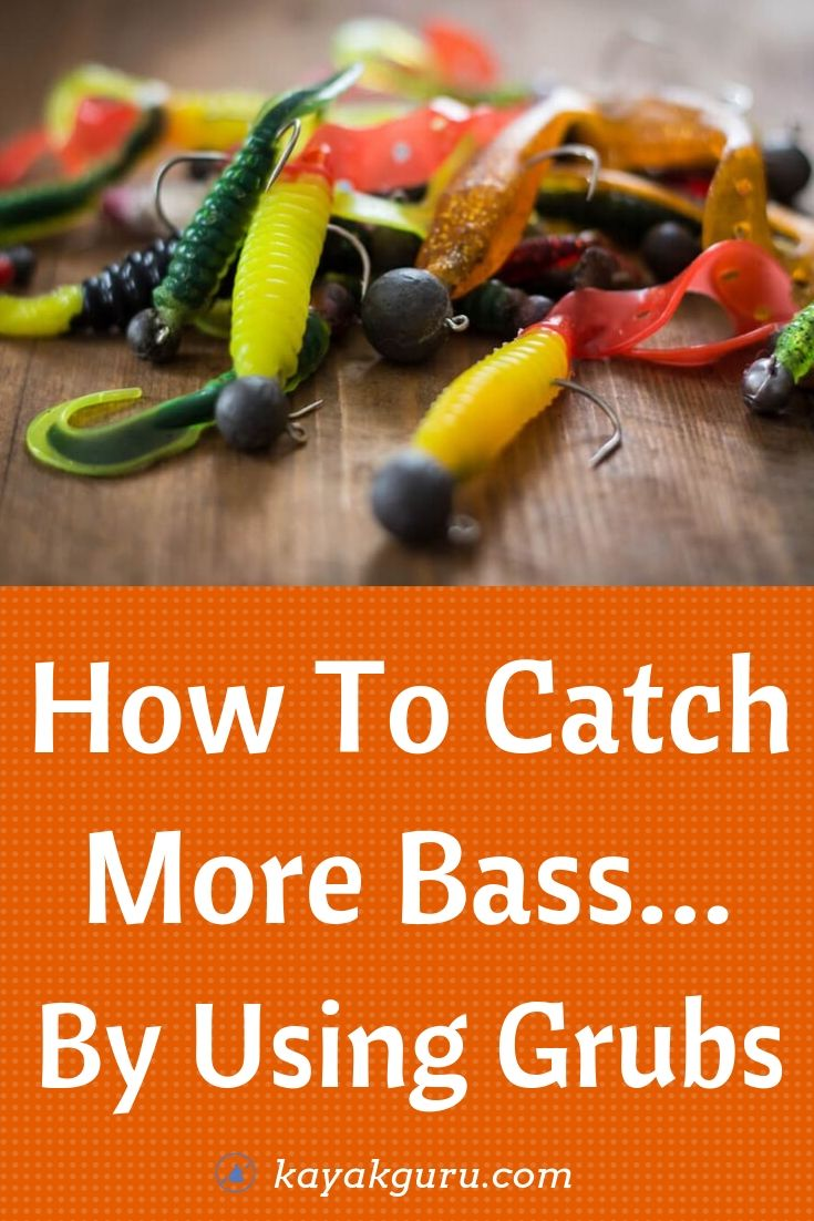 How To Catch More Bass By Fishing With Grubs? - Pinterest