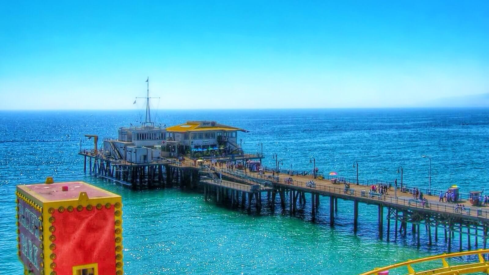 Best California fishing spots - Santa Monica Pier