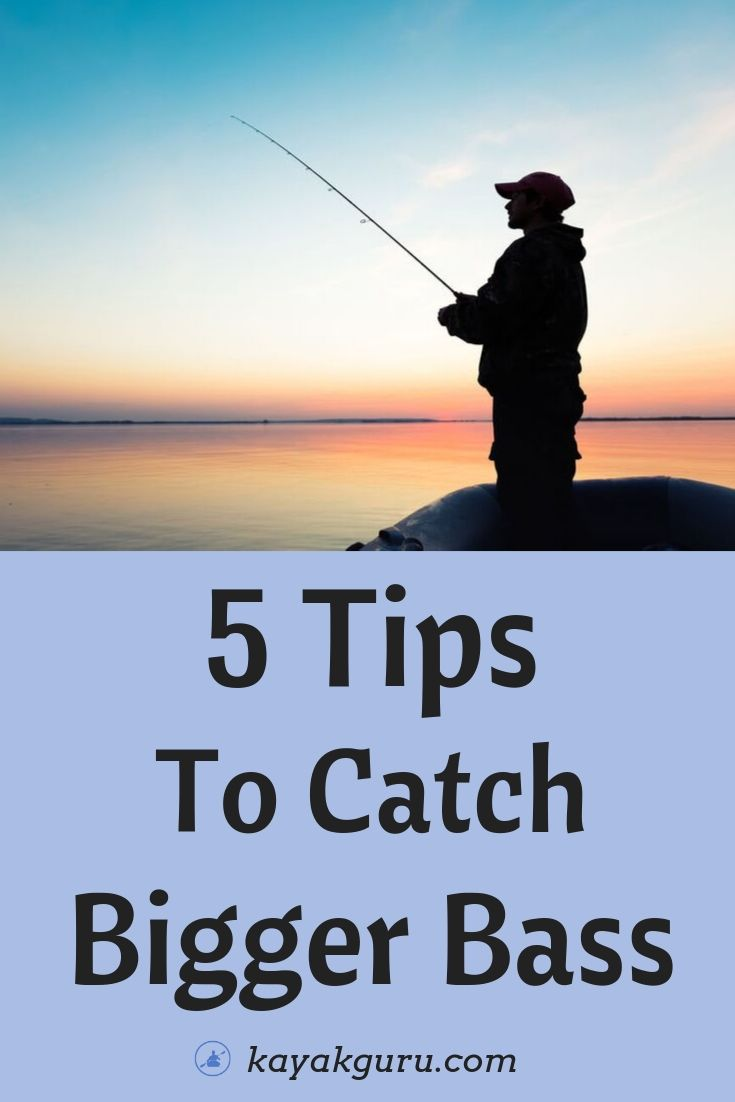 Tips To Catch Bigger Bass - Pinterest Image