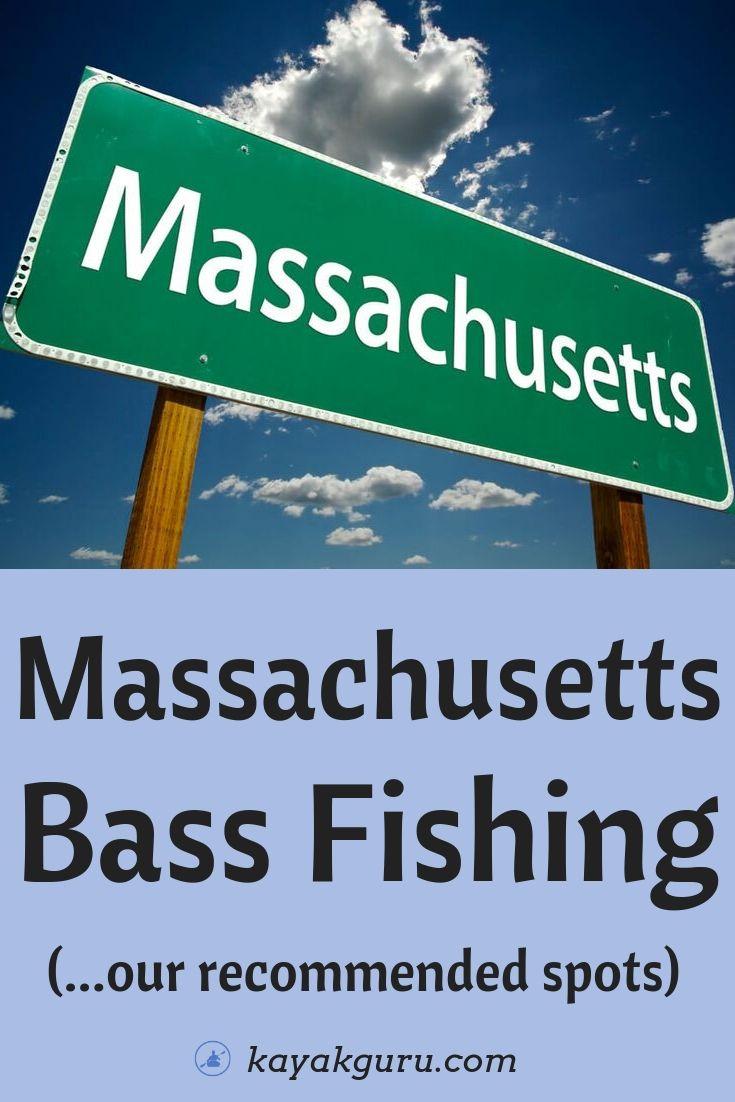 Top Bass Fishing Spots Around Massachusetts - Pinterest Image