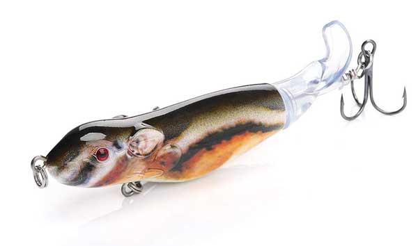 Mice Rat Topwater Fishing Lure Crank Bait Bass Bait Soft Bait Sequins Baits