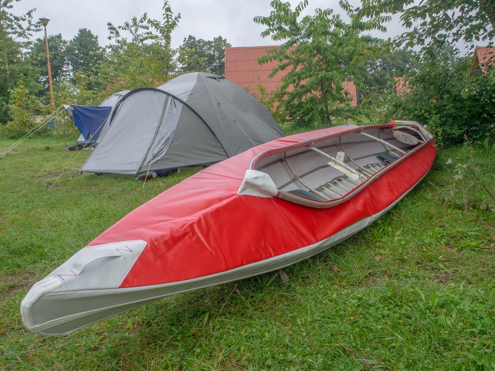 Red Folding Speciality Kayak