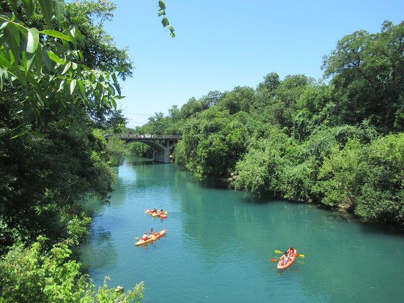 Barton Creek Kayaking