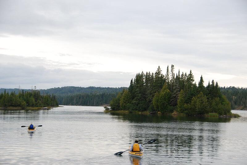 Isle Royale National Park Kayaking
