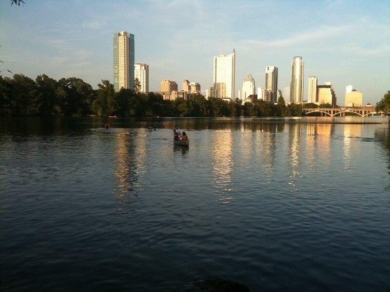 Lady Bird Lake Kayaking