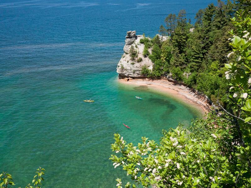 Pictured Rocks National Lakeshore Kayaking