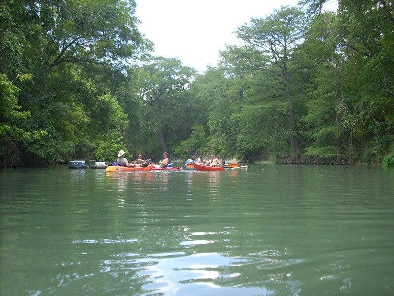 San Marcos River Kayaking